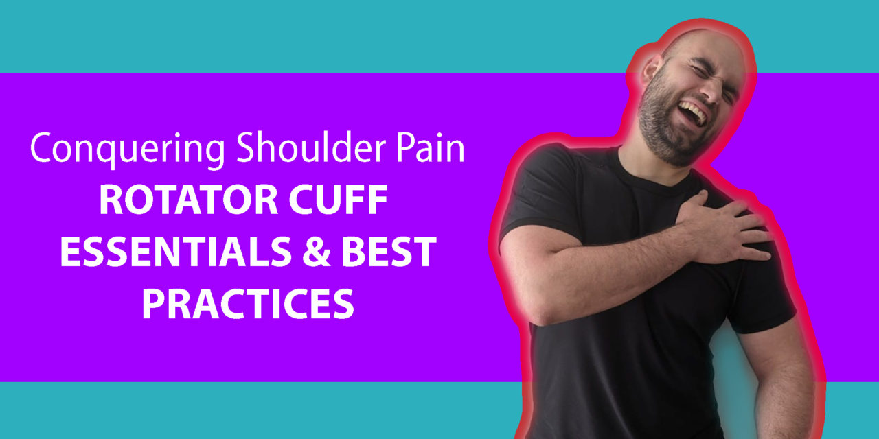 Conquer Shoulder Pain with this Rotator Cuff Physiotherapy System